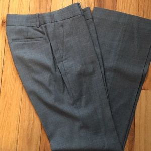 J Crew Super 120s City Fit trousers